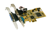 Exsys EX-44160 - PCIe card 2x Serial RS-232 / 1x Parallel, Multi I/O