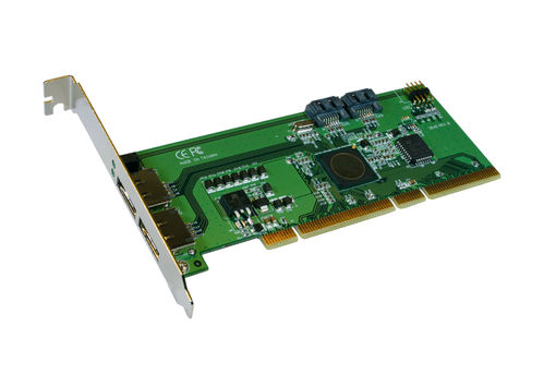 Exsys EX-3401 - PCI-X SATA 2 RAID 0/1 controller for 2+2 HDD