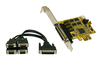 Exsys EX-44374 - 4x PCIe Serial RS-232 Board including LowProfile Bracket