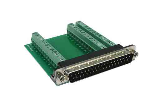 Exsys EX-49035 - Adapter D-SUB 37 Pin Stecker zu Terminal Block 39 Pin